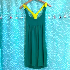 Fighting Eel ~Green and Yellow Dress~
